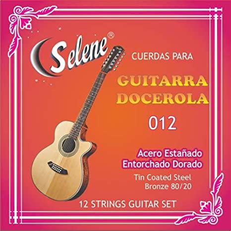 CUERDAS DOCEROLA/GUITARRA 12 CUERDAS
