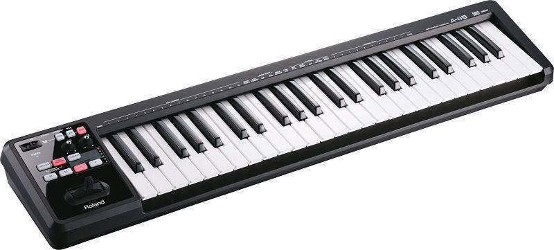TECLADO CONTROLADOR ROLAND MIDI A 49BK